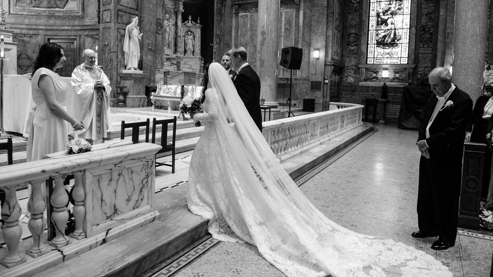 wedding ceremony st ignatius loyola