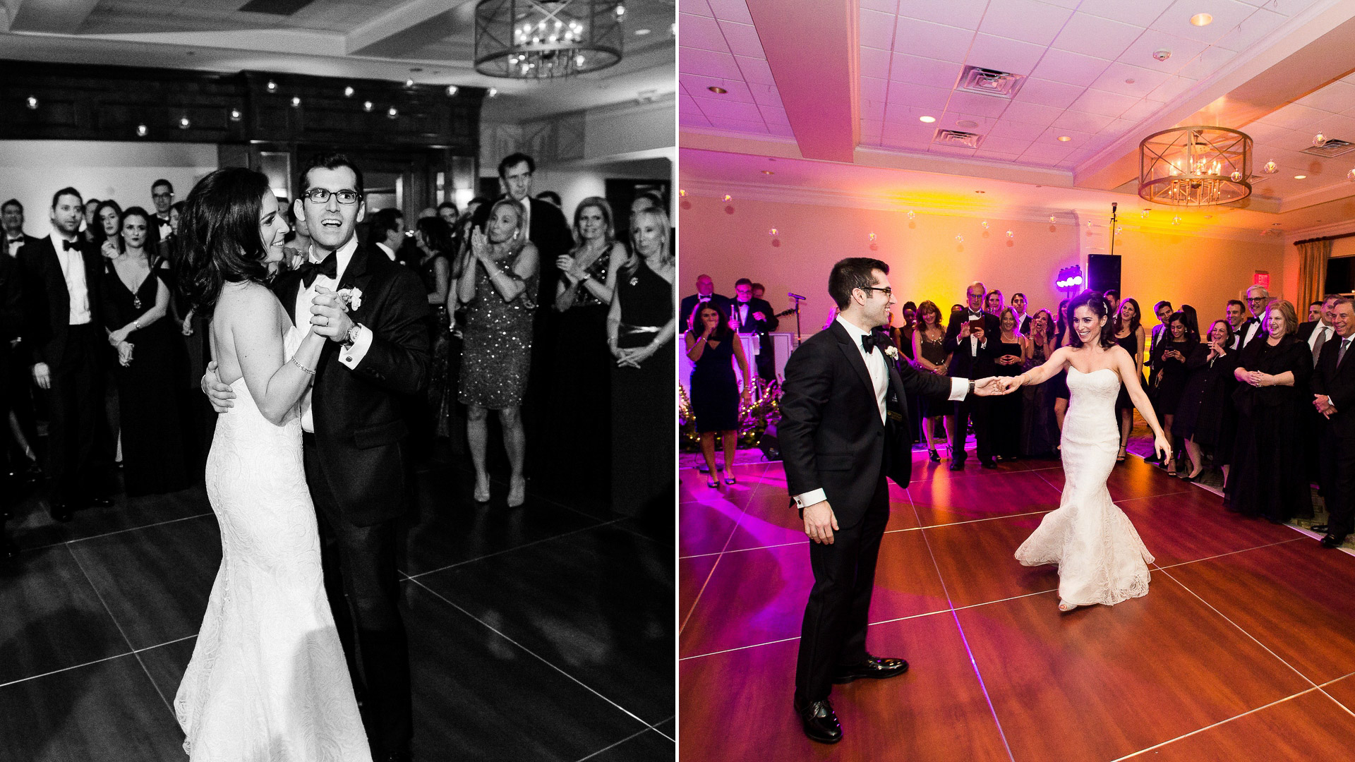 paramount country club wedding first dance