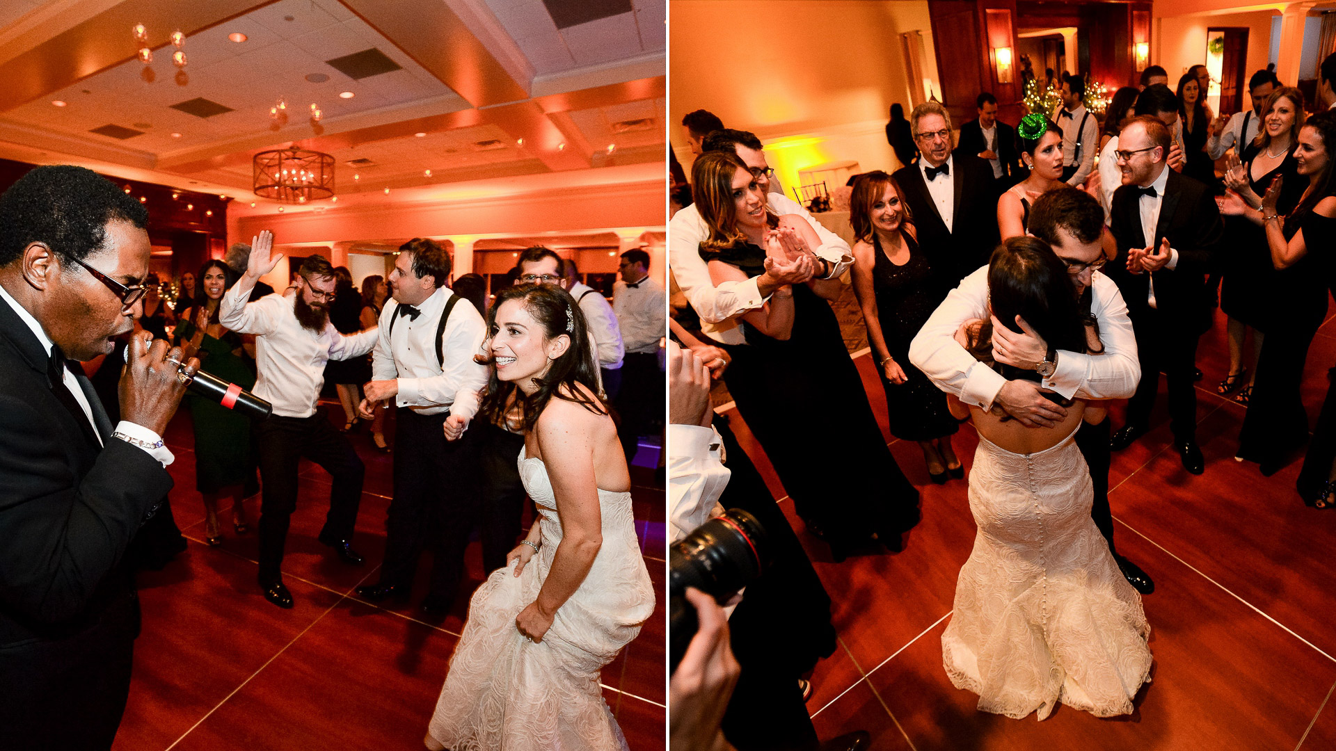 paramount country club wedding dancing