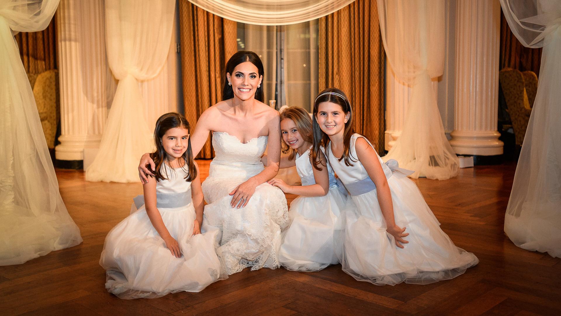 brid and flowergirls