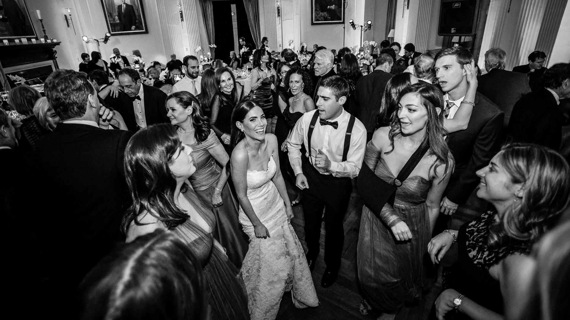 yale club nyc weddin dancing