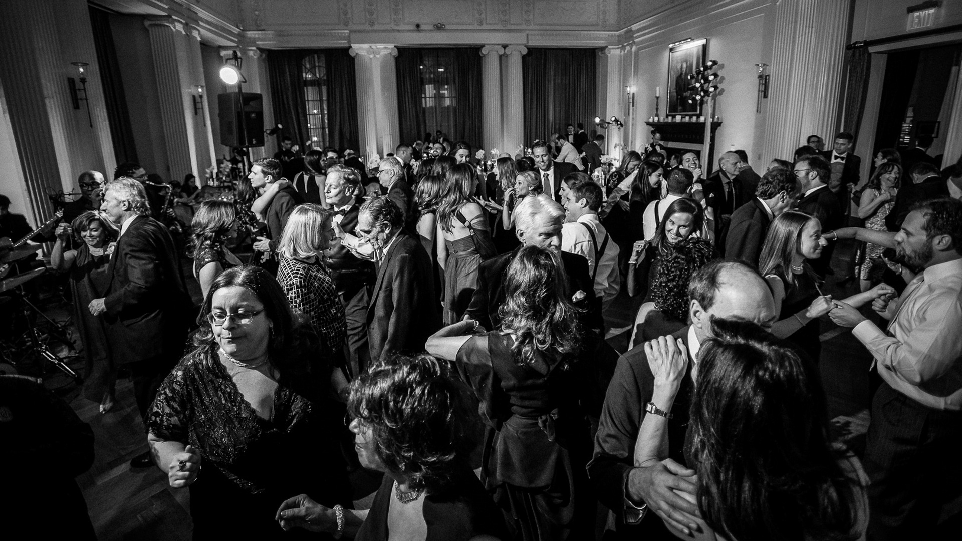 yale club nyc weddin dancing