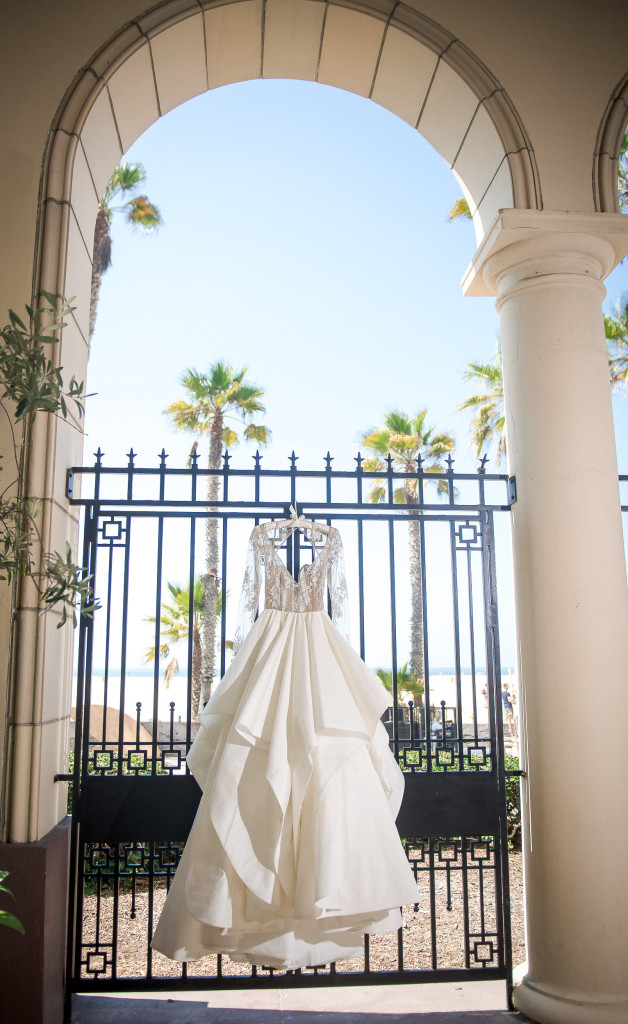 casa del mar wedding dress