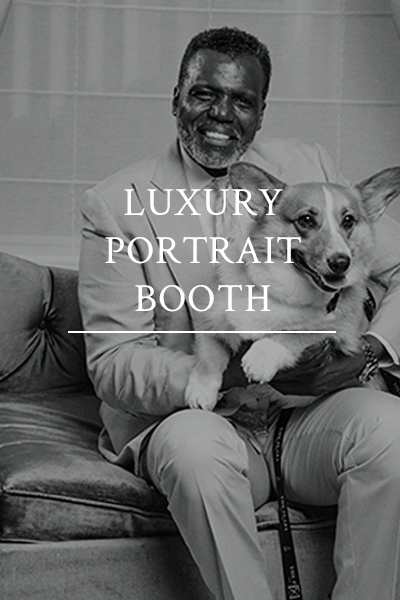 photo booth luxury portrait station party