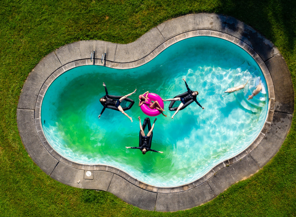 Family 38 - synchronized swimmers